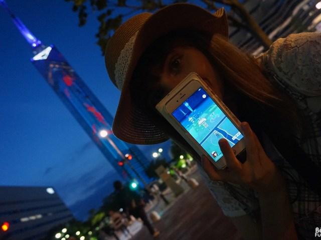 Jouer à Pokémon GO à Fukuoka
