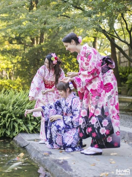 Fukuoka Kimono Walk