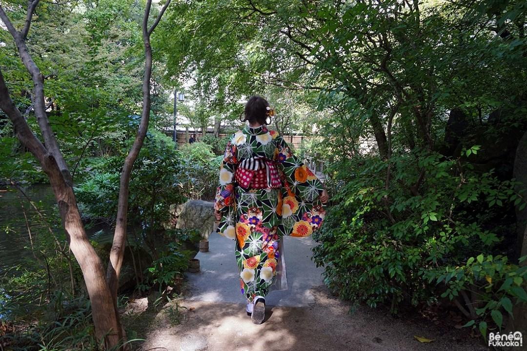 Kimono de dos, Fukuoka Kimono Walk