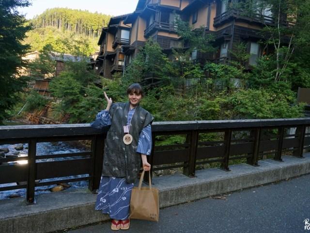 Escapade d'anniversaire à Kurokawa onsen