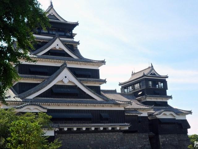 Kumamoto et son château