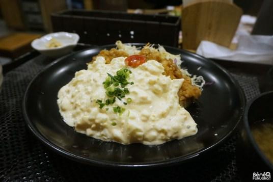 Chicken Nanban au restaurant Umecchaga Shokudô Puravida!