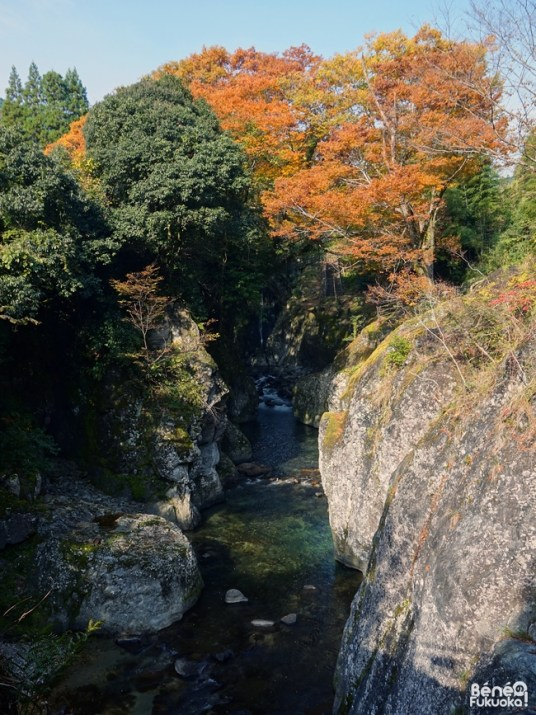 Gorge de Mabayashi, Ôita