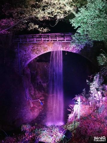 Illuminations au pont Nenbutsu, Yamakuni, Ôita