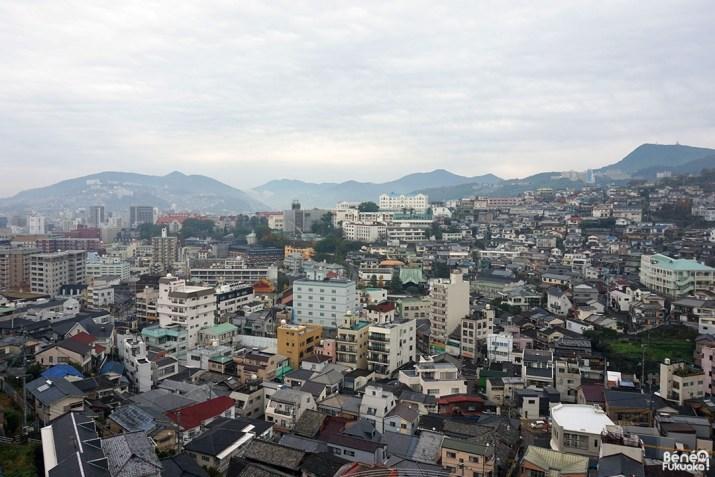 Vue sur Nagasaki depuis le Glover Garden