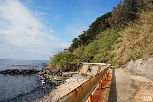 Glissement de terrain, Genkaijima, Fukuoka