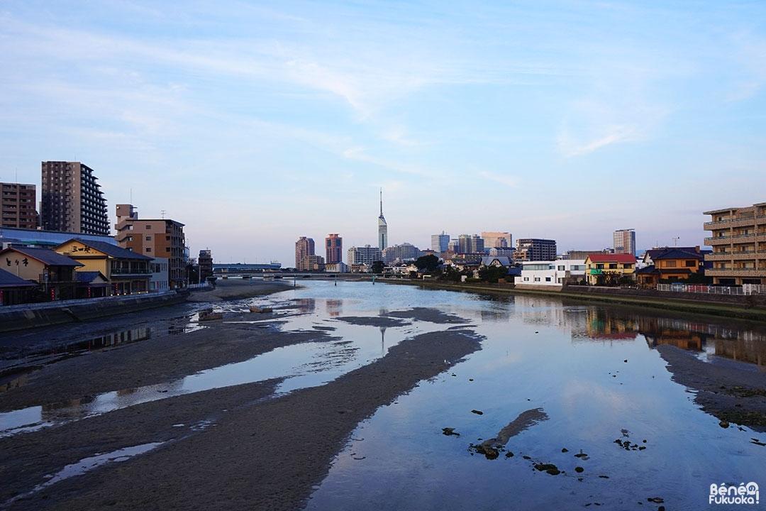 Fleuve Muromi-gawa, Fukuoka