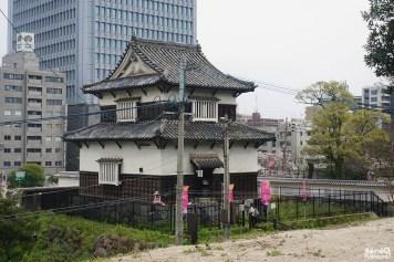 Une des tourelles du château de Fukuoka