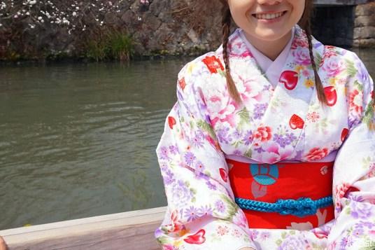 Béné en kimono, Yanagawa
