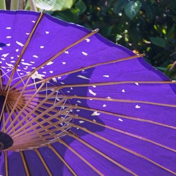 Ombrelle, Okinawa Kimono Walk (à Miyakojima)