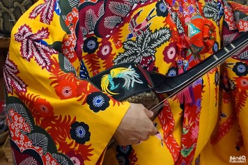 Sanshin, Okinawa Kimono Walk (à Miyakojima)