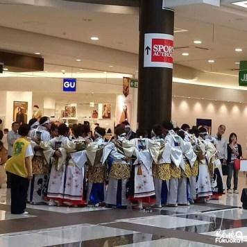 "Team de yosakoi ""Nagare"", Fukuoka"
