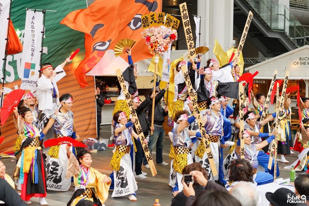Le yosakoi, une danse japonaise colorée