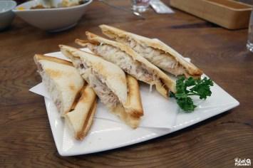 Sandwich à la bonite, Mango no Mori, Ibusuki, Kagoshima