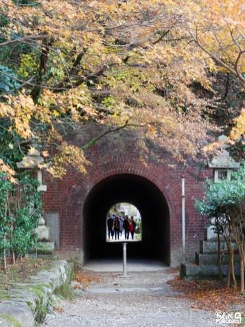 Le tunnel piéton de Dazaifu, Fukuoka