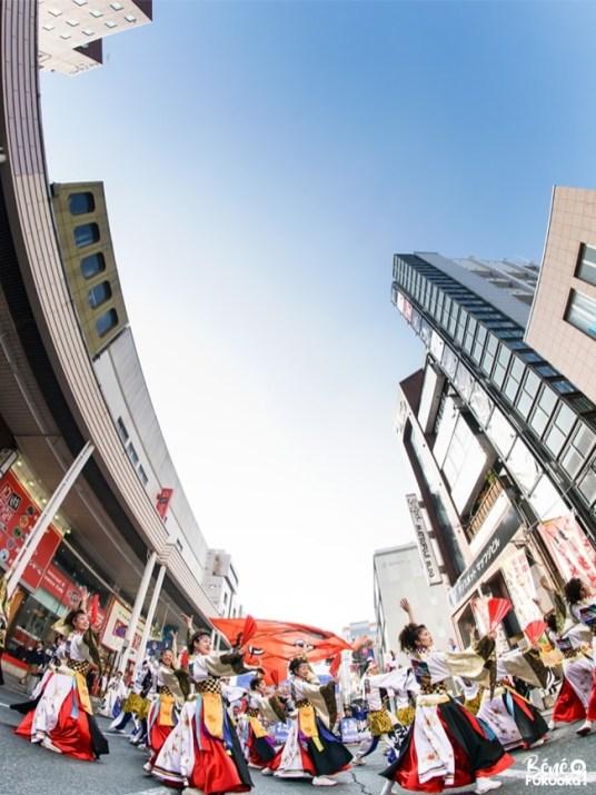 Festival de yosakoi Kyûshû Gassai, ville de Kumamoto