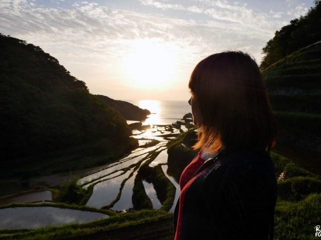 [Saga] Coucher de soleil magique sur les rizières de Hamanoura