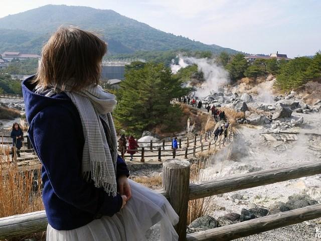 Les Enfers du mont Unzen