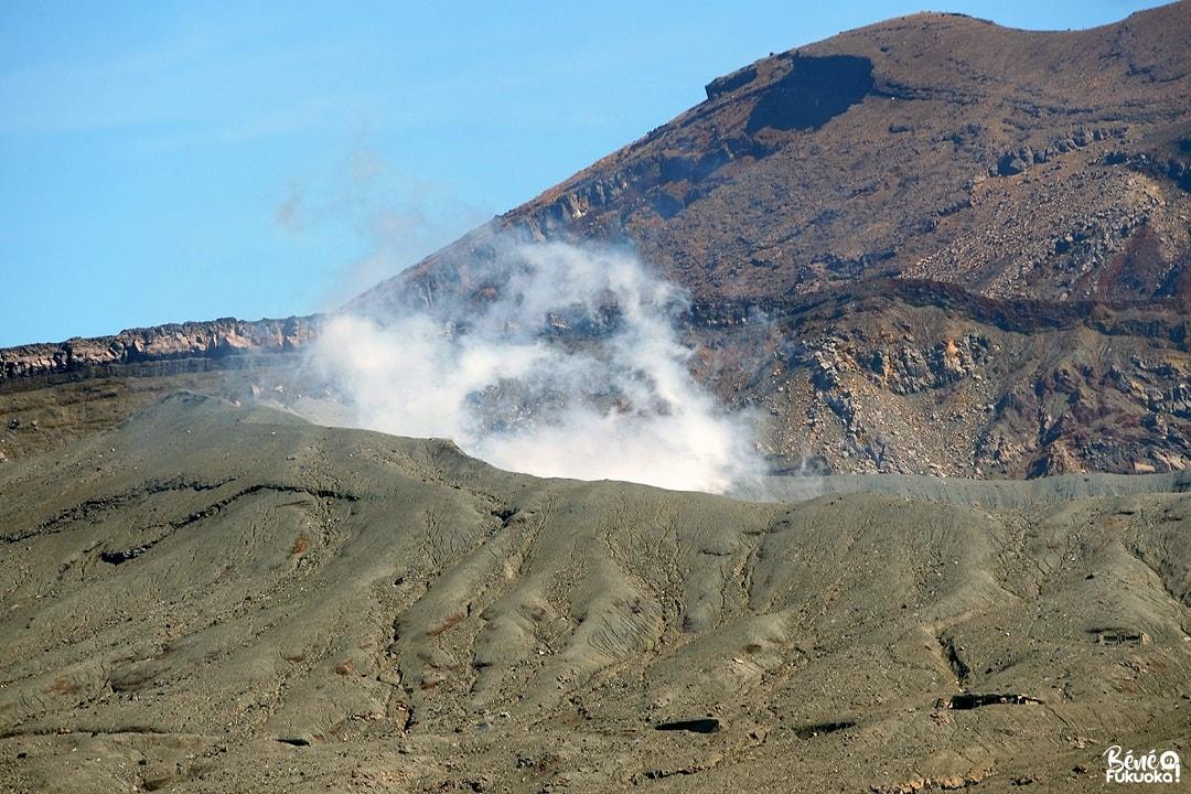 Cratère du mont Aso, Kumamoto