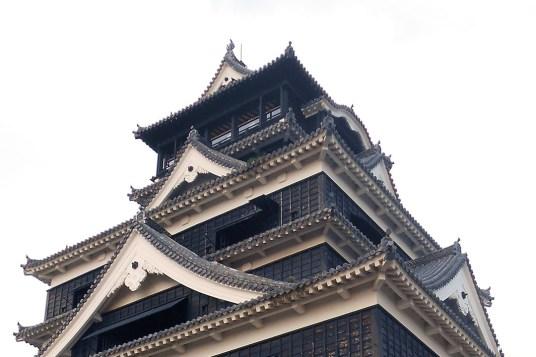Donjon du château de Kumamoto