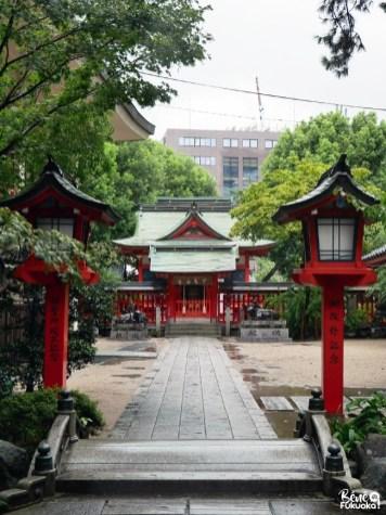 Le sanctuaire Suikyô Tenmangû, Fukuoka