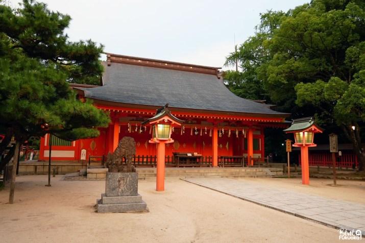 le sanctuaire Sumiyoshi de Fukuoka