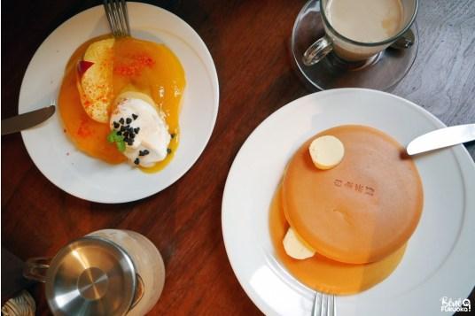 Pancakes du restaurant Shirogane Sabo, Fukuoka