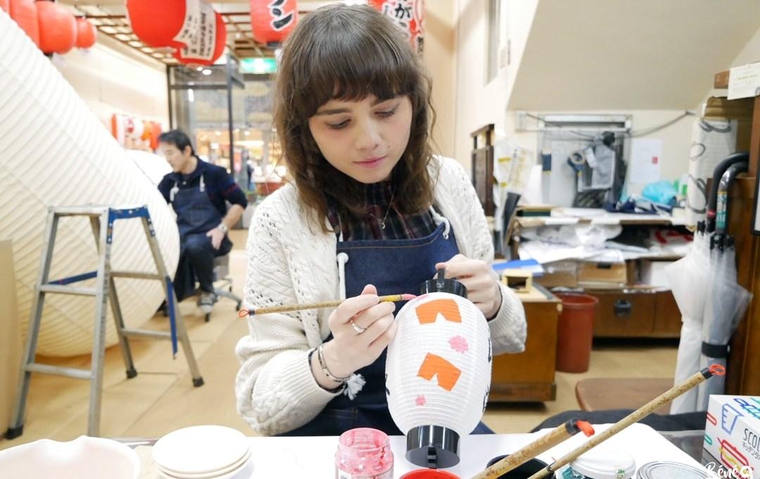 Nouvelle activité à Fukuoka : j'ai essayé la peinture sur lanterne japonaise