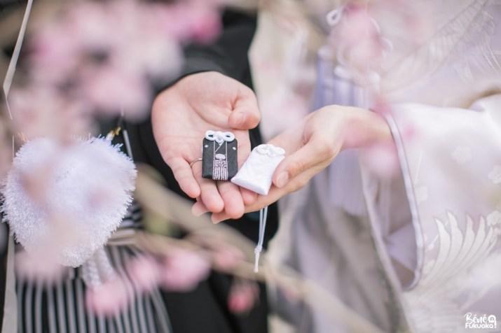 Amulettes japonaises de mariage