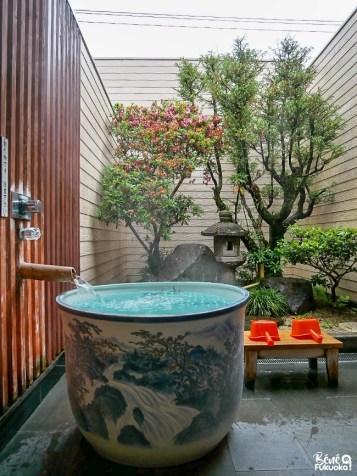 Yûzen no Yu, l'onsen porcelaine à Ureshino, préfecture de Saga