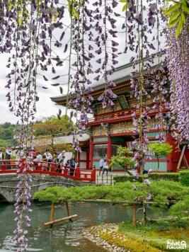 Le sanctuaire Yûtoku Imari, préfecture de Saga