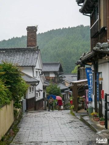 Les rues du village d'Ôkawachiyama, Saga