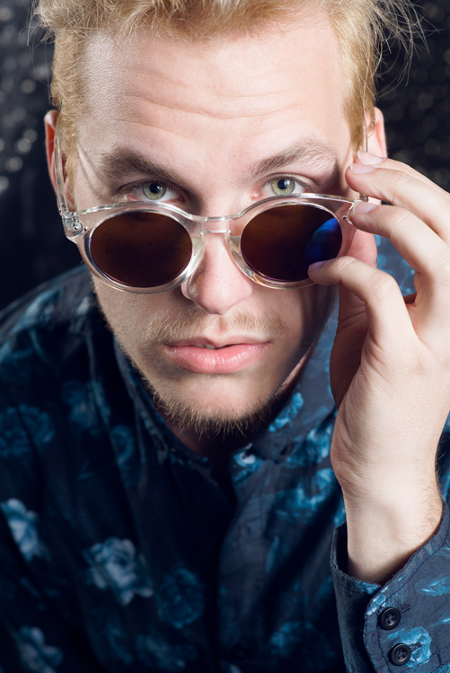 fashion photography man sunglasses style
