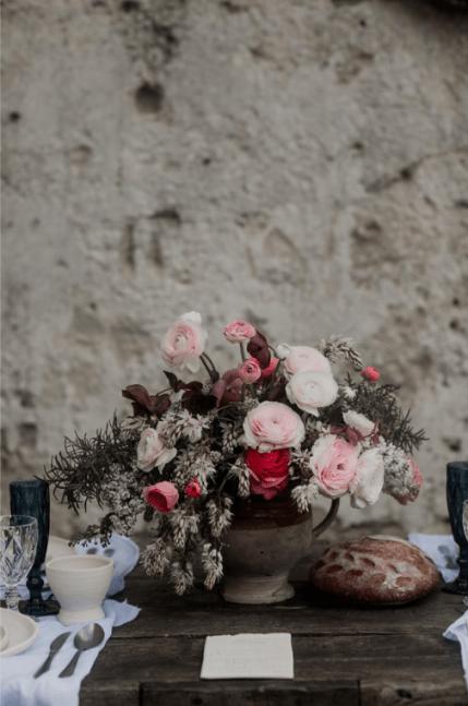 wedding table matera