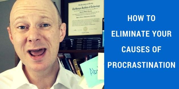 Causes of Procrastination