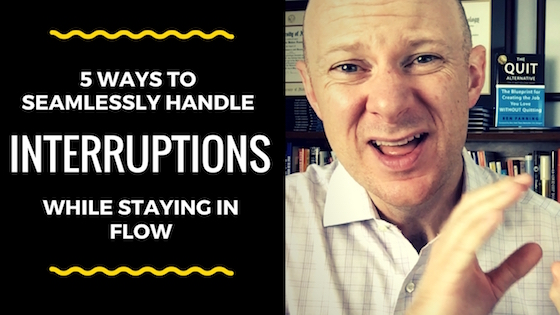 5 Ways to Seamlessly Handle Interruptions and Stay on Track