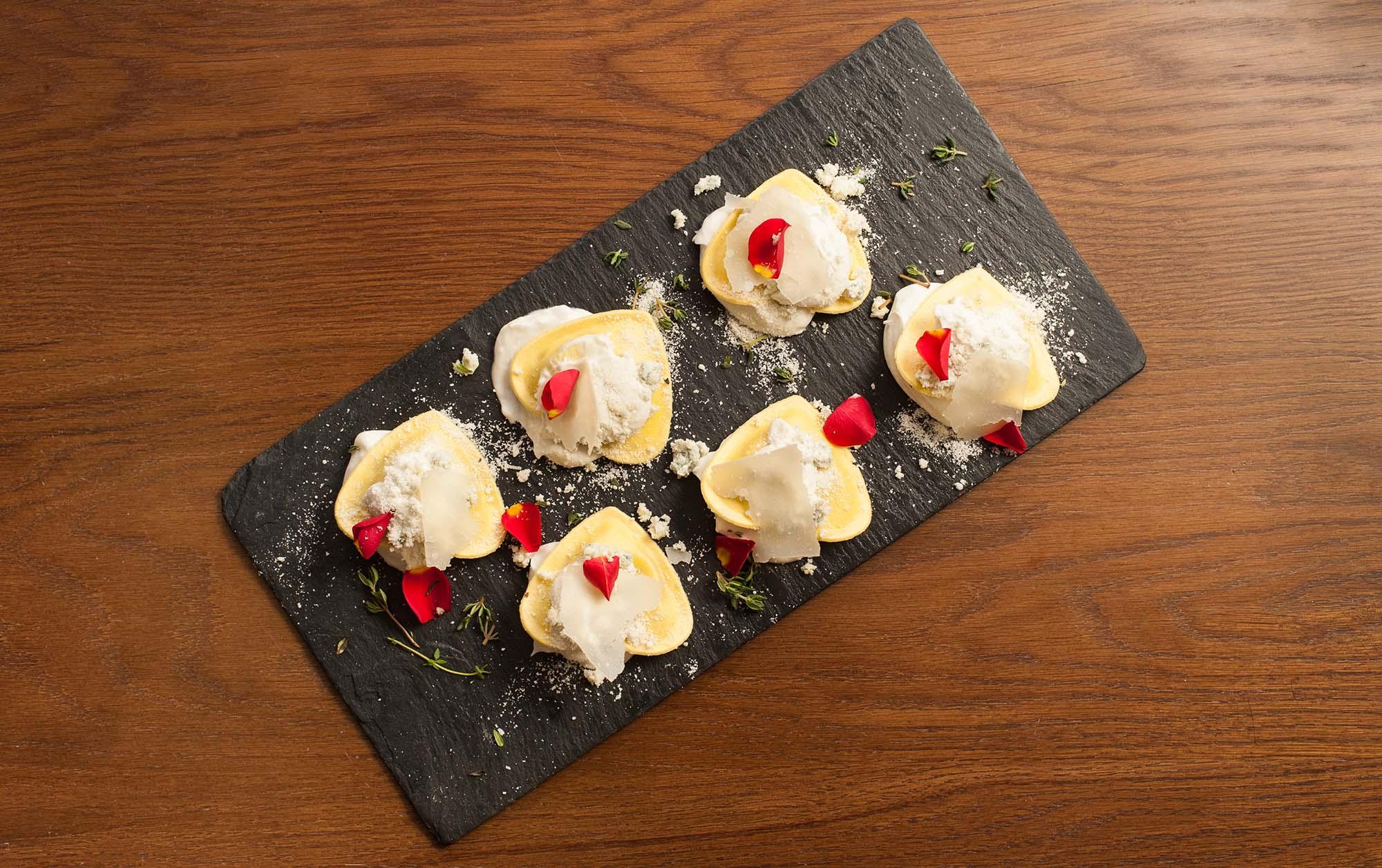 Pasta rellena Benfood Cuore queso azul