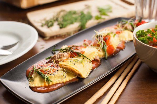 Pasta rellena de atún de la marca Benfood