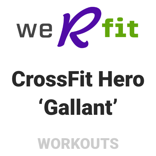 CrossFit Gallant Workout