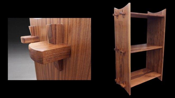 Japanese meditation shelf by Brian Benham