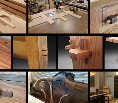 Custom furniture and art handmade by Brian Benham in Colorado