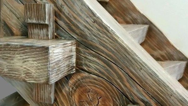 Timber Frame Staircase | Benham Design Concepts