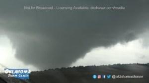 Tornado near Seiling May 18, 2017