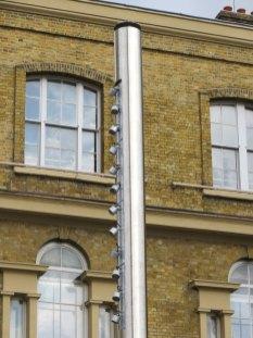 Small lighting column