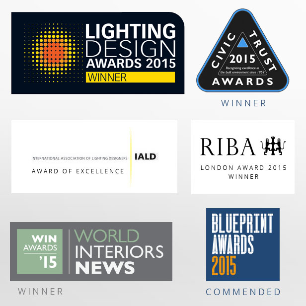 Kings Cross Square Lighting Wins Awards