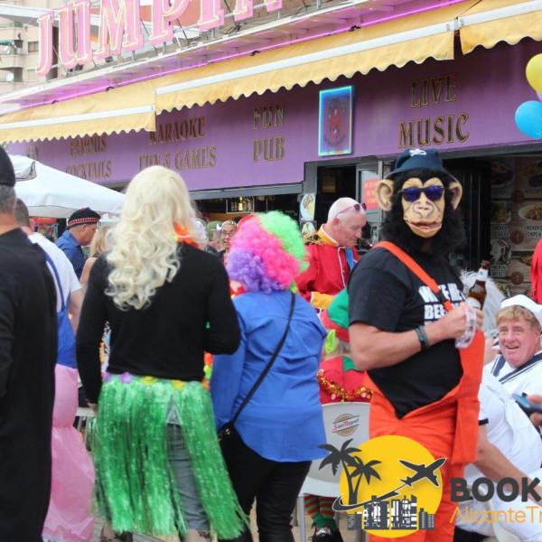 Benidorm Fancy Dress Party 2019 Book Now