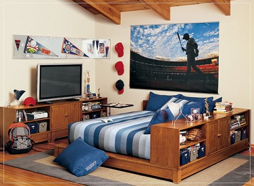 Interior design of teens room 16