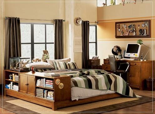 Interior design of teens room 20
