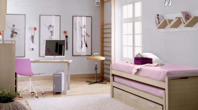 Interior design of teens room 23