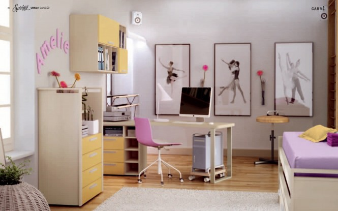Interior design of teens room 24
